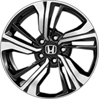 17 inch aluminum alloy wheels for Civic Coupe EX-L and EX-T