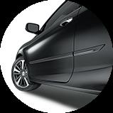2017 Honda Accord Coupe 配件車側飾條圖示