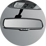 2017 Honda Accord Coupe automatic dimming mirror accessory icon