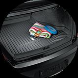 2017 Honda Accord Coupe 配件後車箱托盤圖示