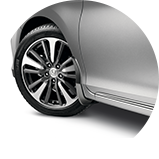2017 Honda Accord Hybrid 配件擋泥板圖示