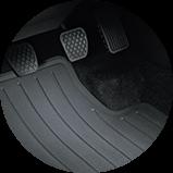 2017 Accord Sedan 全天候腳踏墊圖示