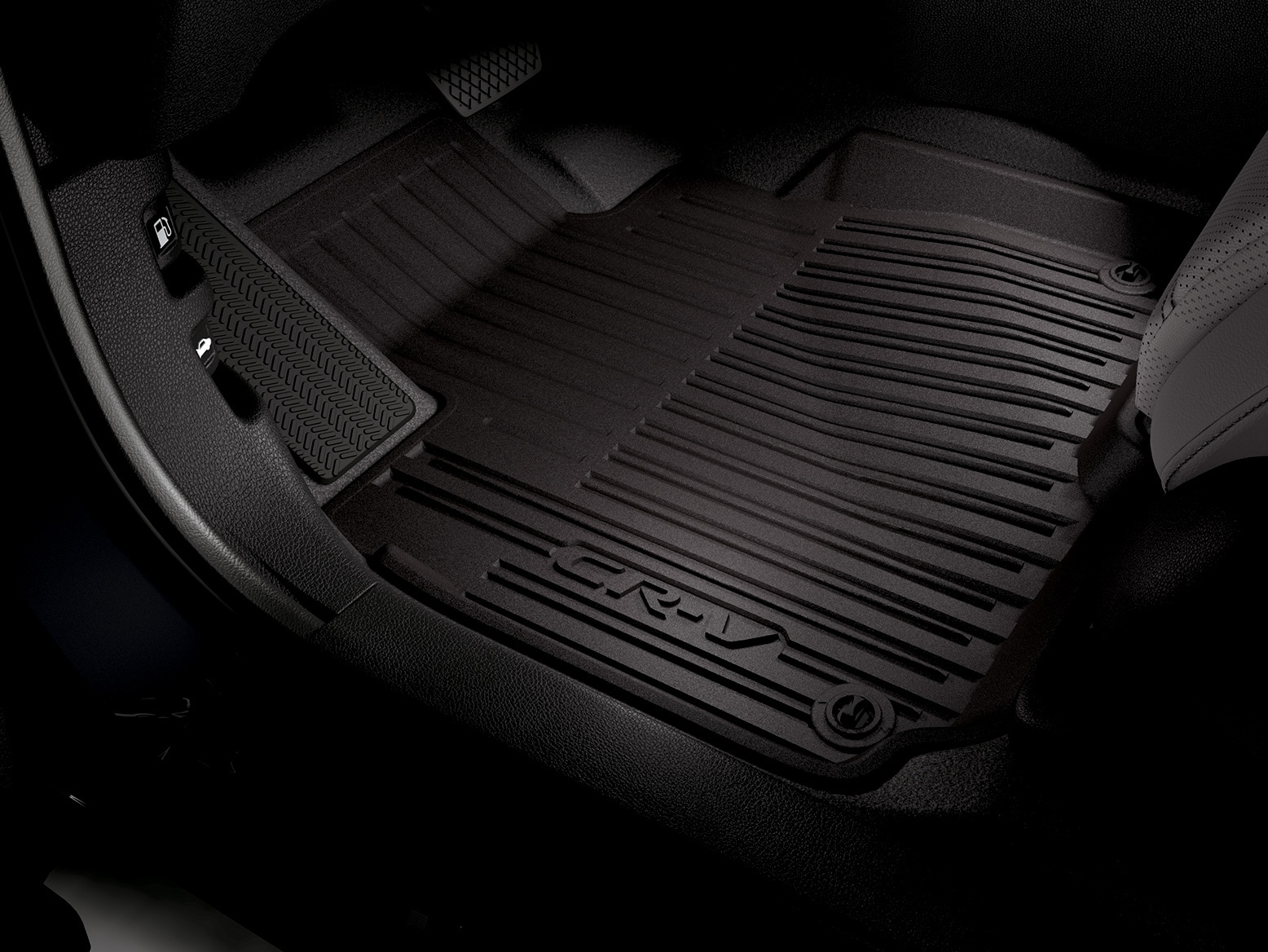 ALL-SEASON FLOOR MATS - HIGH WALL (BLACK) (part number:)