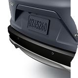2017 CR-V Touring 外觀 3/4 後排乘客倒車雷達偵測系統。