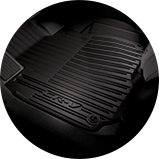 2017 CR-V Touring 內裝黑色腳踏墊圖示