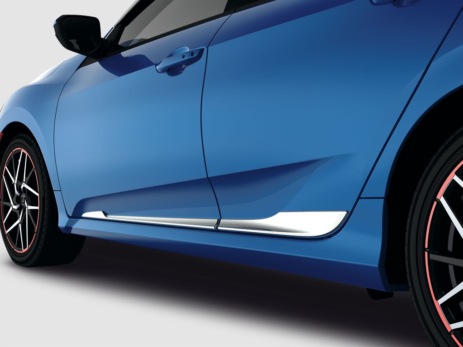 honda  store  civic door trim chrome