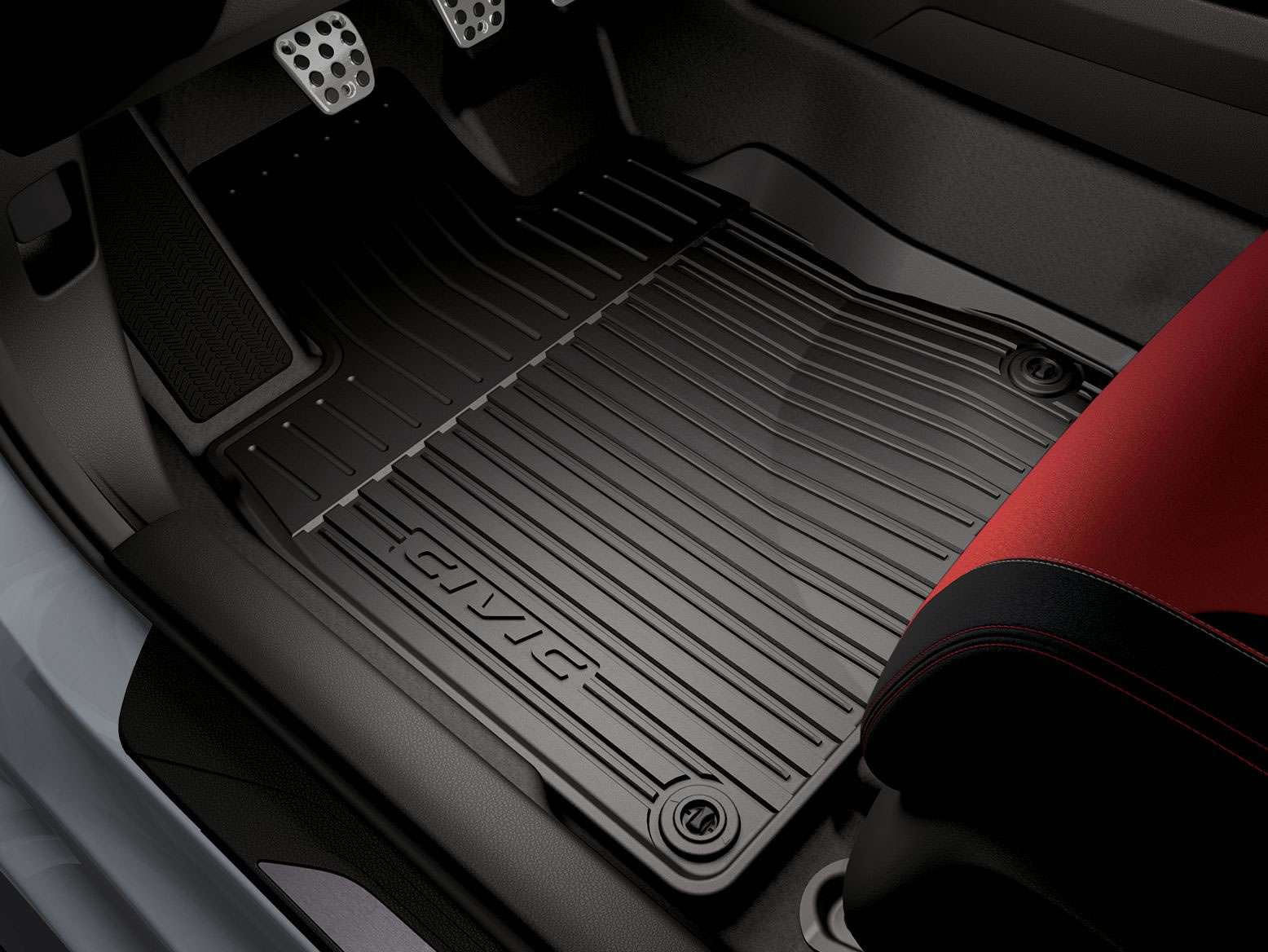 ALL-SEASON FLOOR MATS-HIGH WALL (part number:)