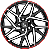 2017 Civic Hatchback 18 inch accessory wheel icon