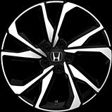 Ícono del volante estándar de 18pulgadas del Civic Hatchback 2017