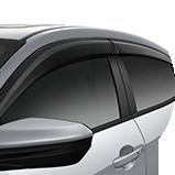 Ícono de las viseras accesorias para las puertas del Civic Hatchback 2017