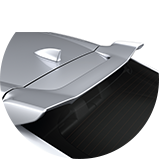 2017 Civic Hatchback accessories tailgate spoiler icon