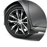 2017 Honda Civic Sedan LX 擋泥板圖示