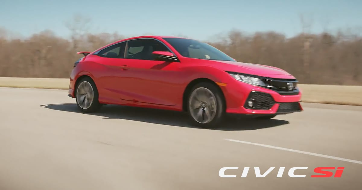Introducing The New Civic Si for 2017   Honda