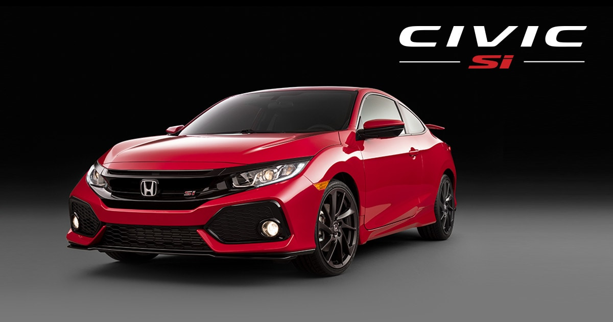 Honda Certified Pre Owned Financing >> Introducing The New Civic Si | Honda