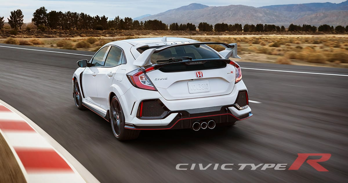The New Civic Type R | Honda