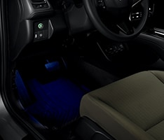 2017 Honda HR-V interior illumination