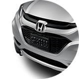 Rejilla deportiva de la Honda HR-V