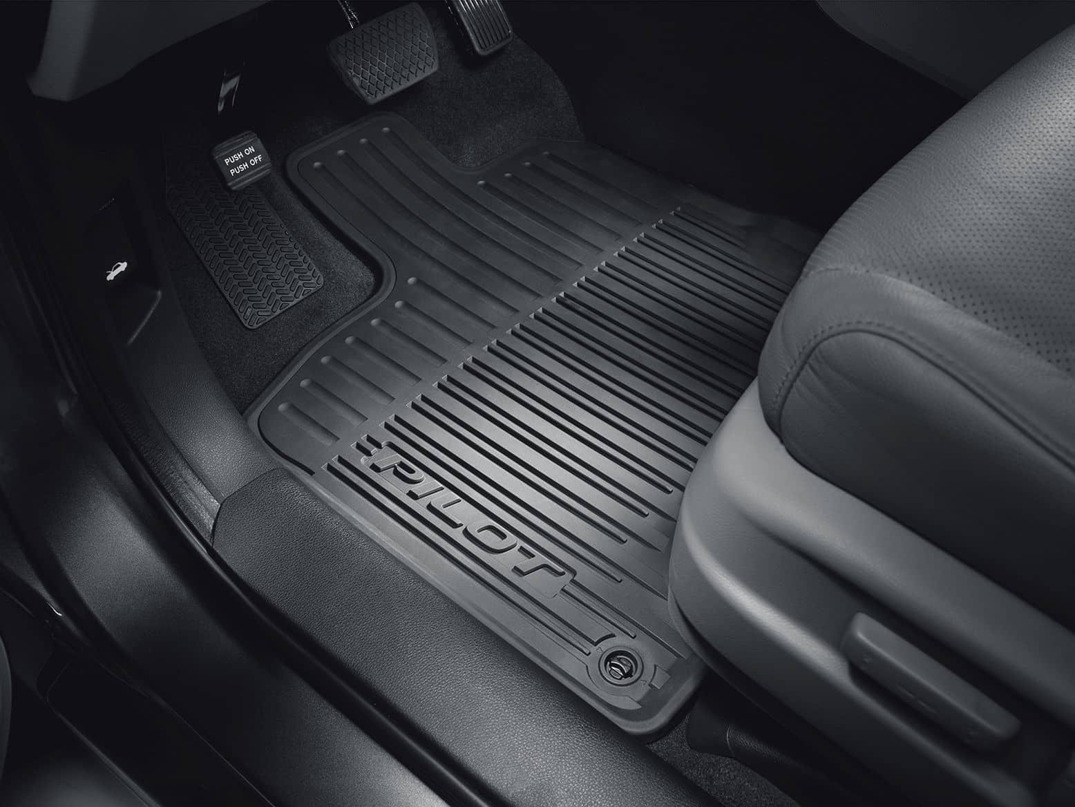 honda pilot floor mats 2017