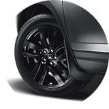 2017 Pilot 20 Inch Black Alloy Wheel Icon