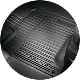 2017 Honda Ridgeline accessory all-weather floor mats icon