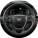 2017 Honda Ridgeline accessory heated steering wheel icon