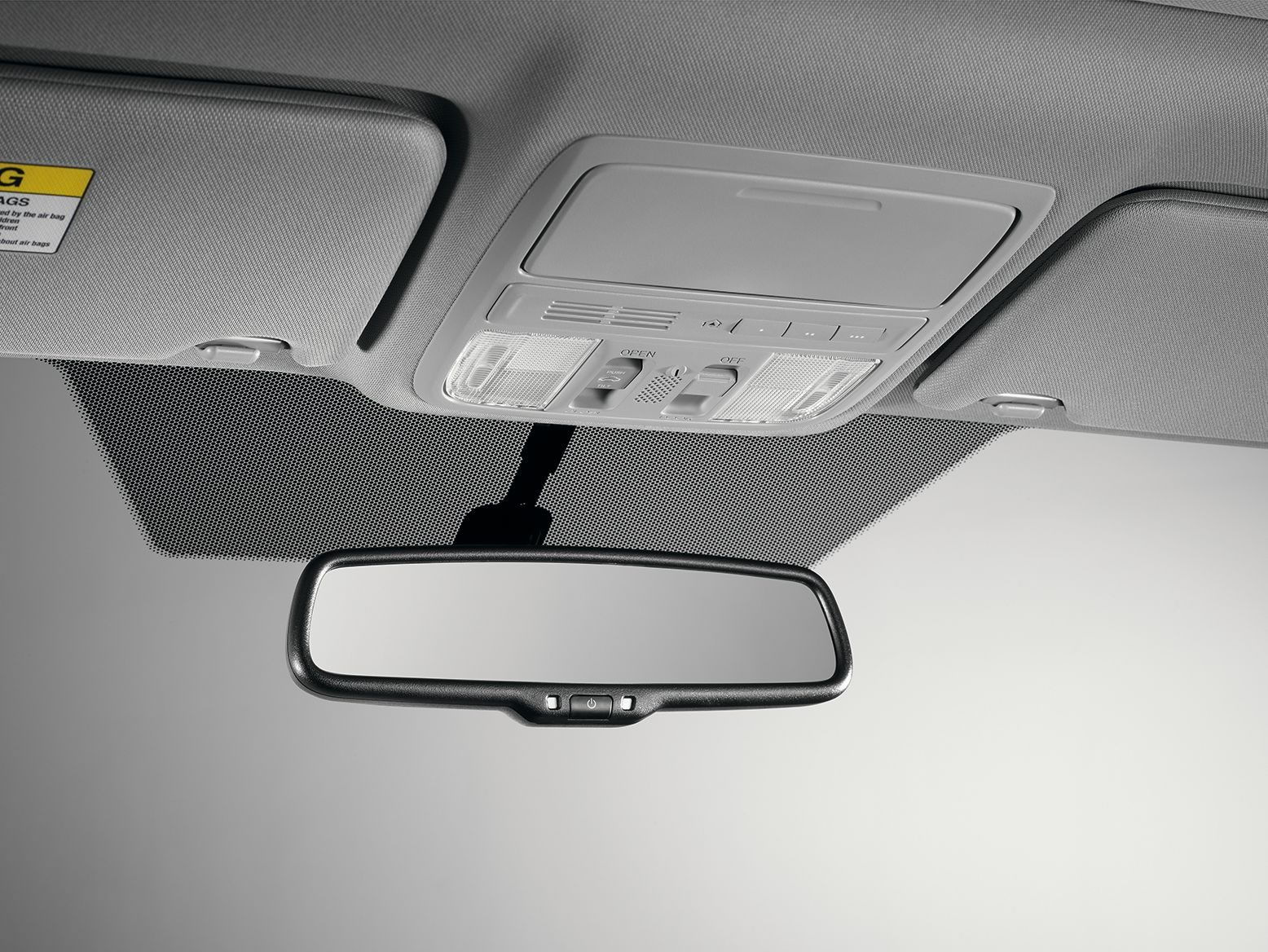 AUTOMATIC-DIMMING MIRROR (LX  EX) (part number:)