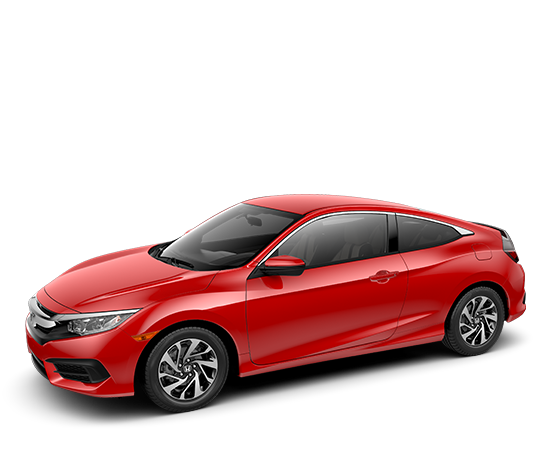 2018 Civic Coupe Continuously Variable Transmission LX Featured Special Lease