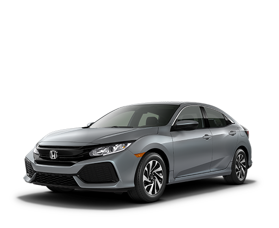 2018 Civic Hatchback Continuously Variable Transmission LX Featured Special Lease