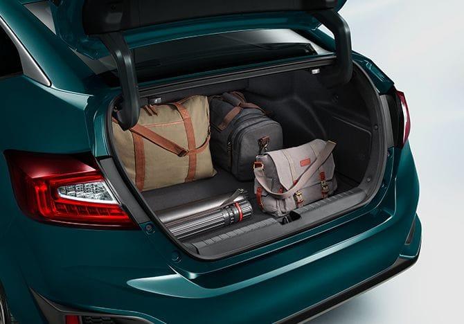 Capacidad del maletero del Honda Clarity2018