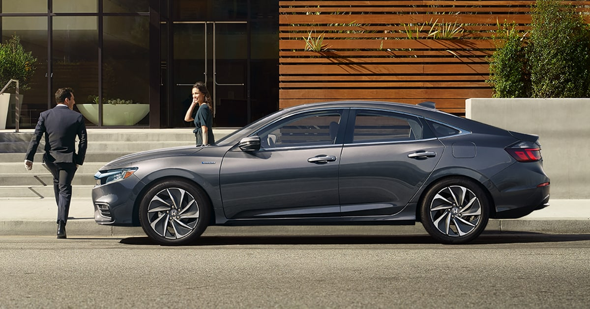 2019 Honda Insight Production Model Debuts