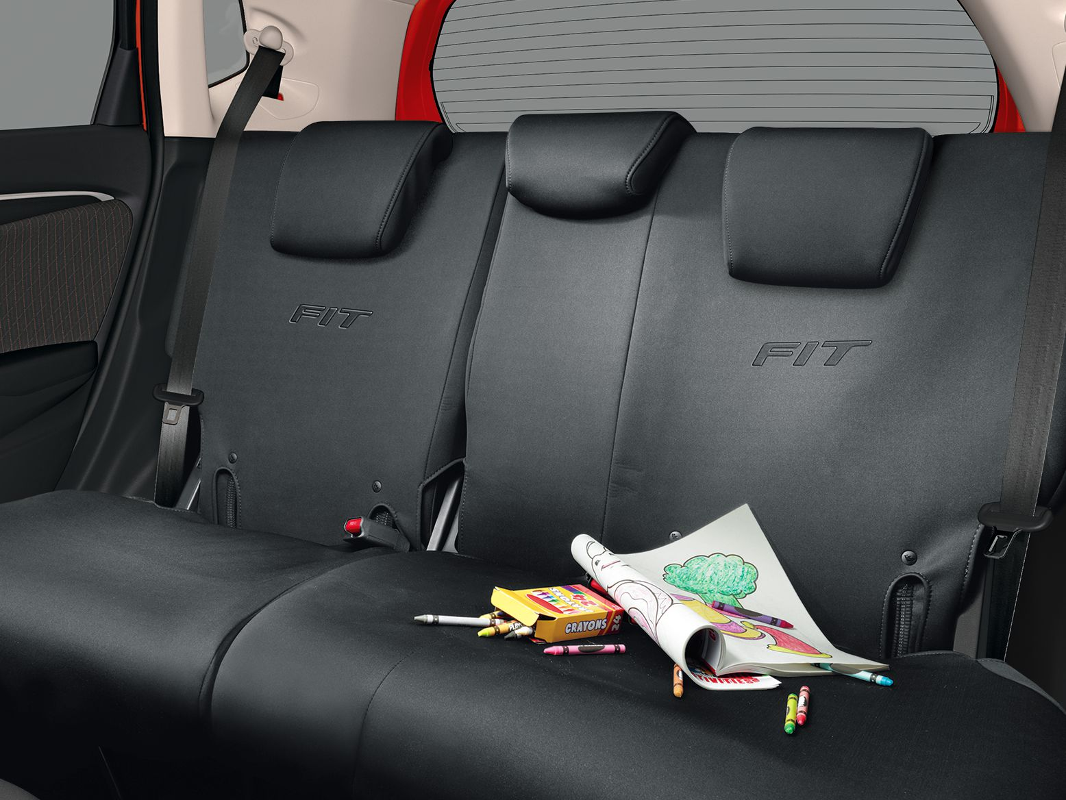 Honda Online Store 2018 FIT SEAT COVERS 2ND ROW