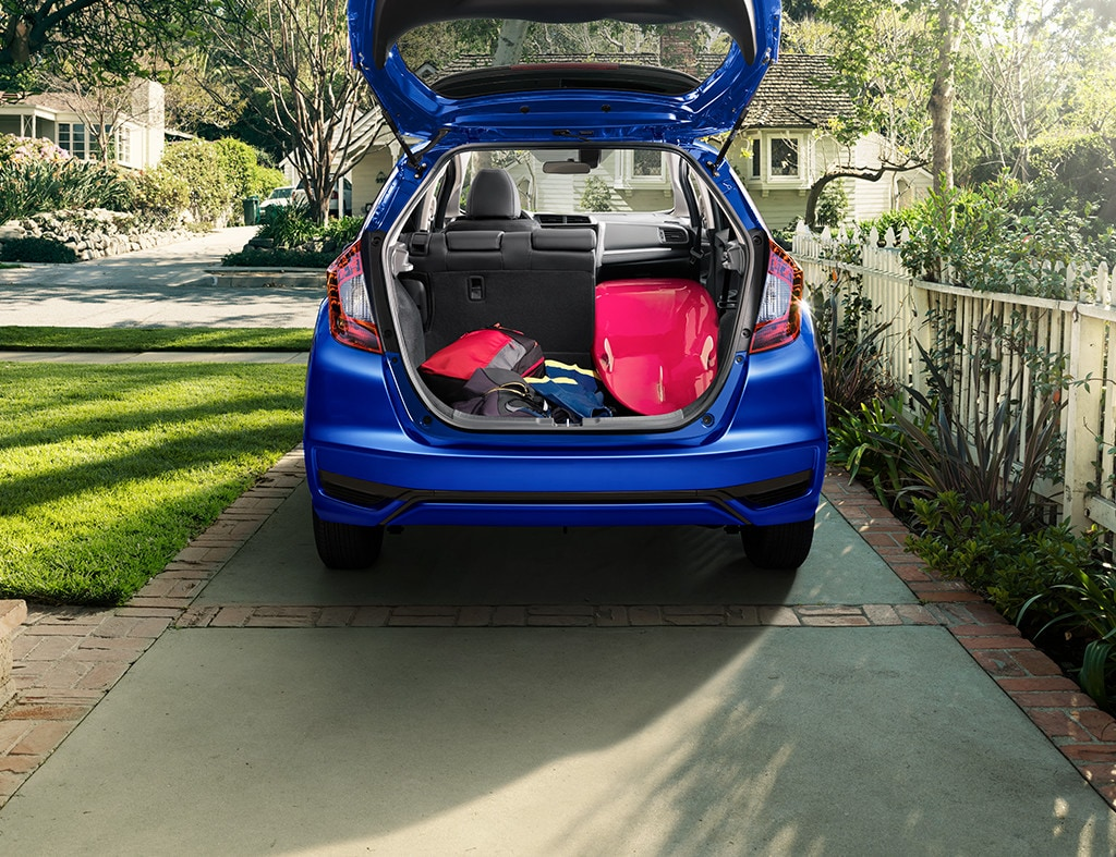 2019 Honda Fit Exterior Interior Capacity Liftgate Seating Configuration Trunk
