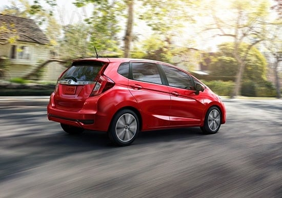 2019 Honda Fit Exterior Side Back Fuel Efficiency
