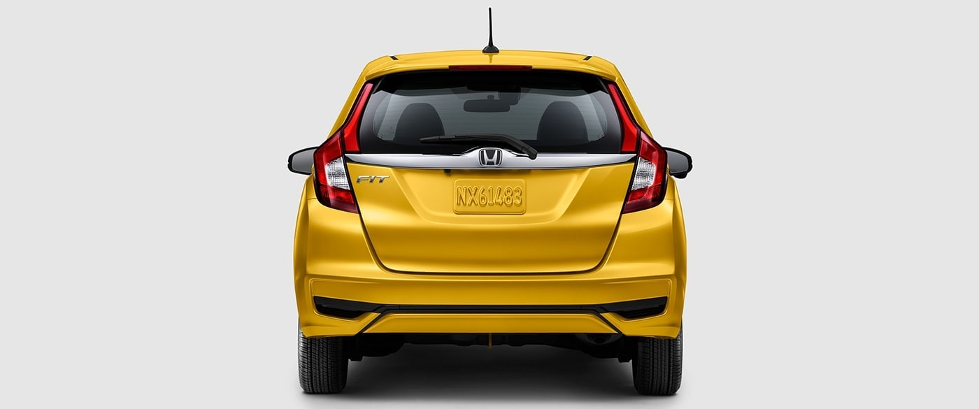 2019 Honda Fit Exterior Back Exhaust Style