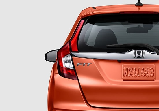2019 Honda Fit Exterior Back Sport Badge