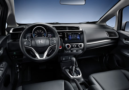 2019 Honda Fit Interior Steering Wheel Technology Display Screen