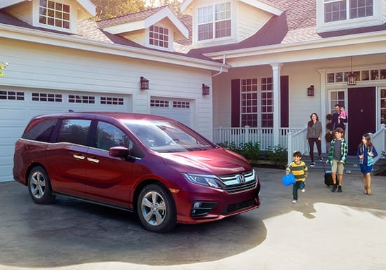 2019 Honda Odyssey Front Exterior View