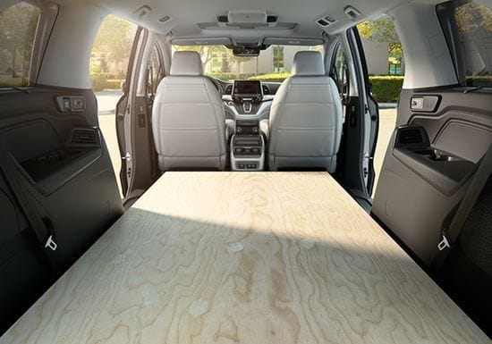 2019 Honda Odyssey Interior Storage Space