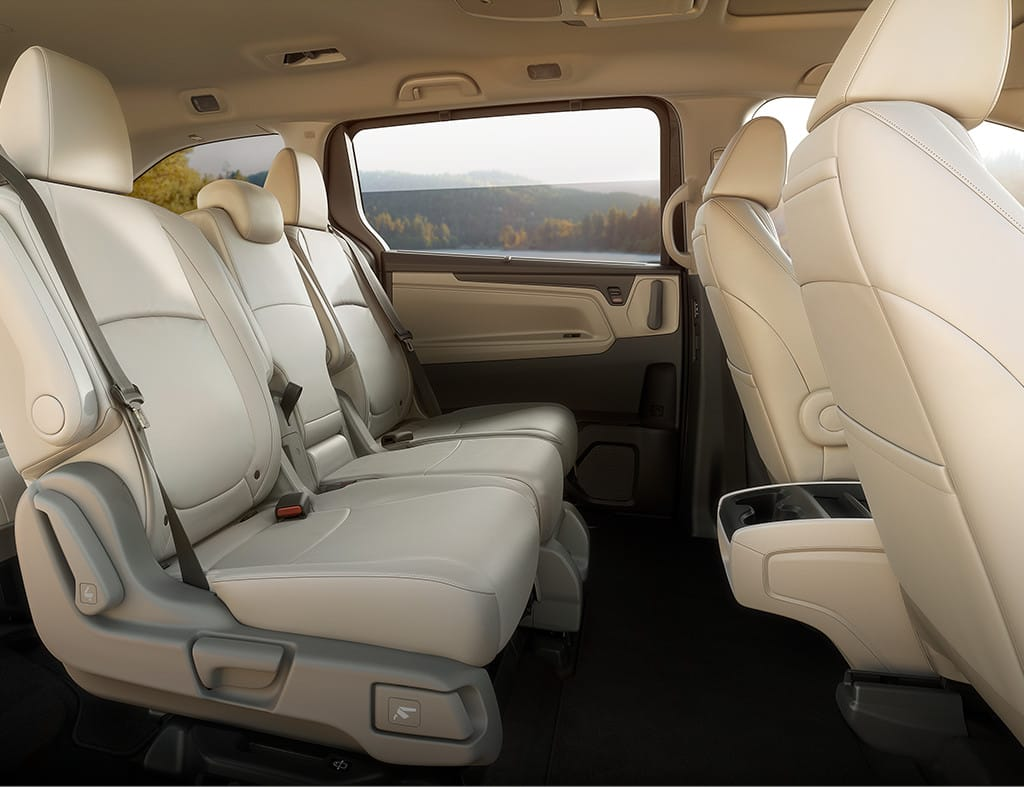 2019 Honda Odyssey Second Row Seats