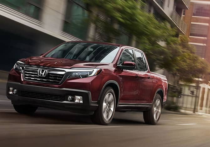2019 Honda Ridgeline Driving Dirt Road