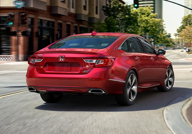 2018 Honda Accord Rear Exterior