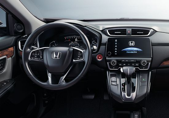 2018 Honda CRV Interior Dashboard Display Screen Technology