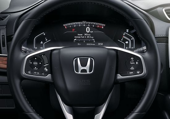 2018 Honda CRV Interior Steering Wheel Display Screen