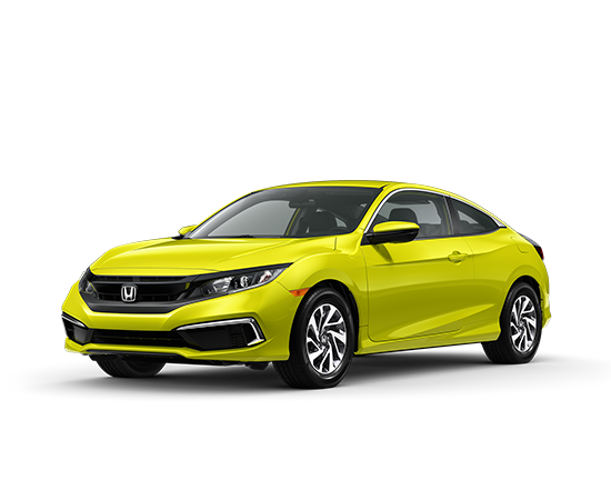 2019 Civic Coupe Continuously Variable Transmission LX Featured Special Lease