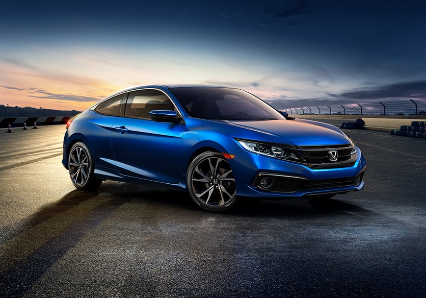 2020 Civic Coupe The Sporty Sophisticated Coupe Honda