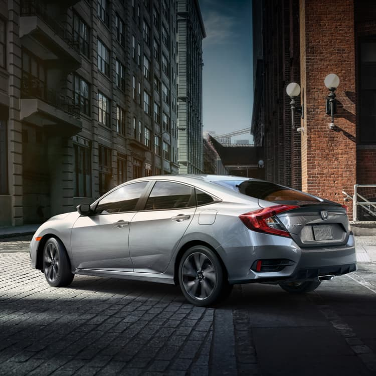 Honda Civic New >> 2019 Civic Sedan Restyled Sporty Design Honda