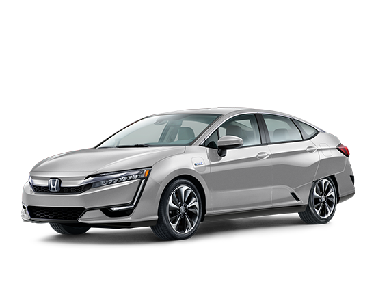 Front 3 4 Of 2018 Clarity Plug In Hybrid Modern Steel Metallic