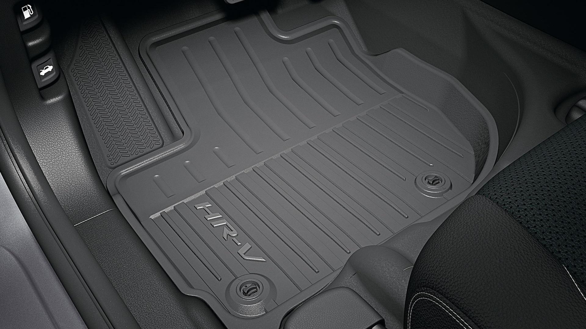 Tapetes para todo tipo de clima en la Honda HR-V2019.