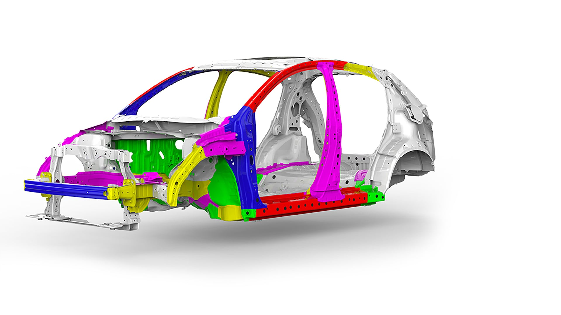 Advanced Compatibility Engineering™ body structure detail on the 2019 Honda HR-V.