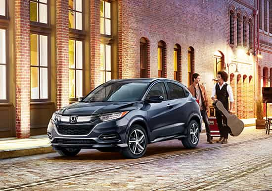 2019 Honda HR-V Shop Features Versatility